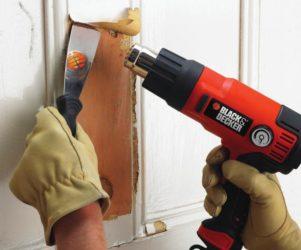 Как счистить старую краску с дерева?
