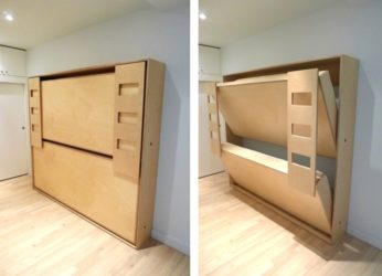 Как сделать настенную кровать?