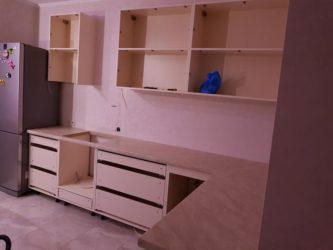 Чем обклеивают мебель из ДСП?