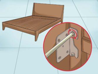 Как устранить скрип деревянного дивана?