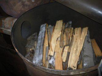 можно ли топить печь шпалами